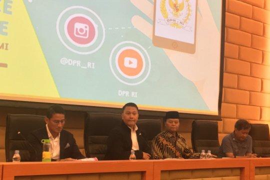Anggota Komisi II DPR undang Sandiaga dan Rocky Gerung bahas oposisi