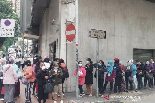 KJRI Hong Kong-BUMN bagikan masker kepada WNI