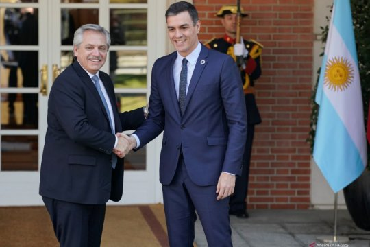 Presiden Argentina Fernandez dinyatakan aman usai terinfeksi COVID