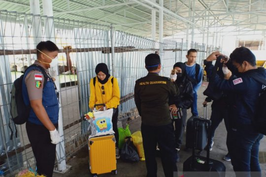 KKP: Lima mahasiswa Nunukan dari China pulang via Malaysia