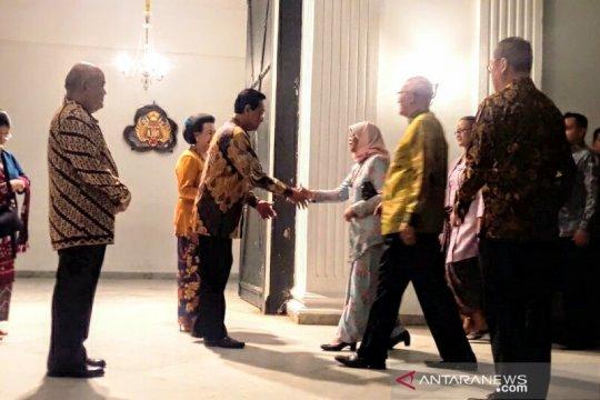 Presiden Singapura bertemu Sultan HB X di Keraton Yogyakarta