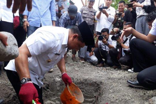 Arkom bangun huntap penyintas bencana Palu yang direlokasi mandiri