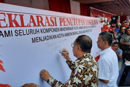 Kemensos-Pemkot Ambon resmi tutup lokalisasi Tanjung Batu Merah
