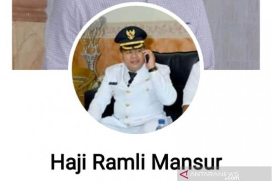 Akun Facebook Bupati Aceh Barat diduga dipalsukan