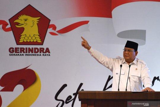 Rapimnas Partai Gerindra minta Prabowo kembali pimpin partai