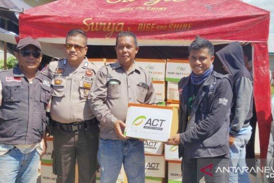 ACT: Ratusan korban kebakaran Baolan butuh alat masak
