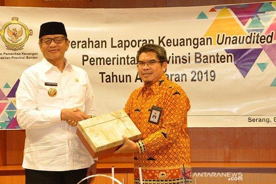Gubernur Banten serahkan laporan keuangan 2019 untuk diaudit BPK