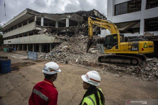 Revitalisasi TIM, gedung Graha Bhakti Budaya dan Galeri Cipta I dibongkar