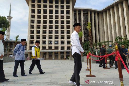 Presiden akan bangun terowongan bawah tanah dari Istiqlal ke Katedral