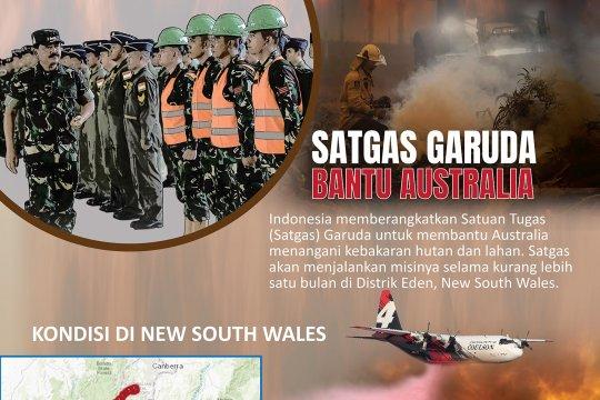 Satgas Garuda bantu Australia