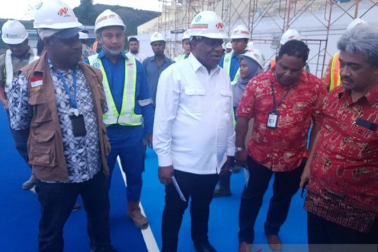 Wamen PUPR klaim pembangunan venue aquatic Papua capai 80 persen