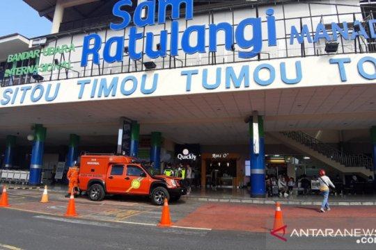 Penumpang Bandara Sam Ratulangi anjlok pada Mei, hanya 1.485 orang