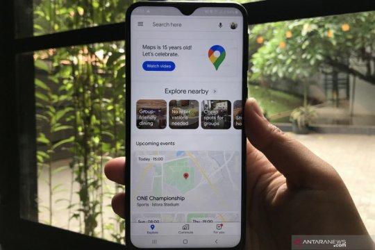 Google Maps rayakan 15 tahun dengan tampilan dan fitur baru