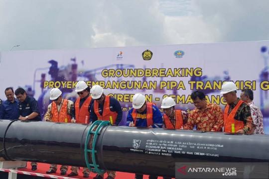 Proyek pipa transmisi gas bumi Cirebon-Semarang akan didanai APBN