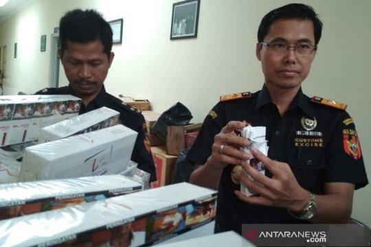 KPPBC Kudus berhasil ungkap 13 kasus rokok ilegal di Jepara