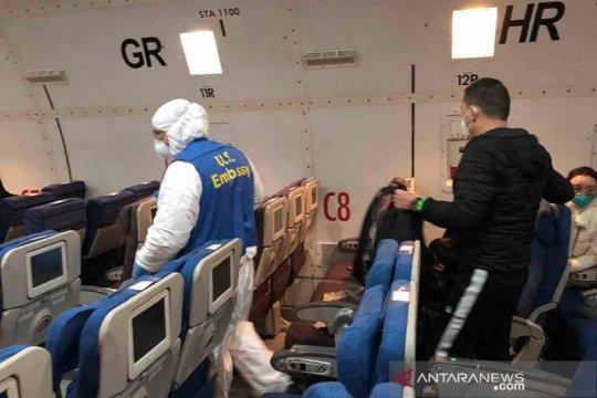 Proses evakuasi warga negara Amerika Serikat dan Kanada dari Wuhan