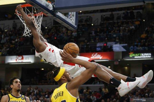 NBA: Toronto Raptors menang 115-106 atas Indiana Pacers