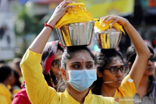 Umat Hindu di Malaysia gelar prosesi Thaipusam di Goa Batu
