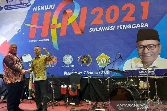 Gubernur terima SK, Sultra resmi tuan rumah HPN 2021
