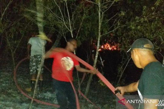 Cuaca panas picu karhutla di Pulau Ambon