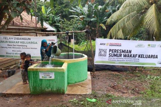 ACT - Global Wakaf bangun 26 sumur keluarga di Kabupaten Banyuasin