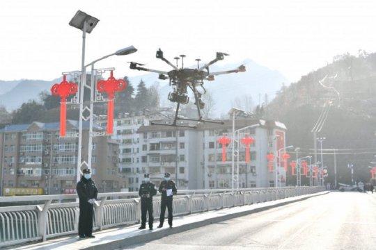 """Ghana gunakan """"drone"""" untuk lakukan tes corona lebih cepat"""