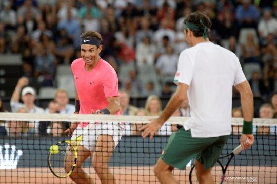 Laga Federer vs Nadal cetak rekor penonton di Cape Town