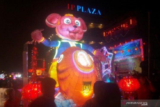 Festival lampion meriahkan Cap Go Meh di Bagansiapiapi