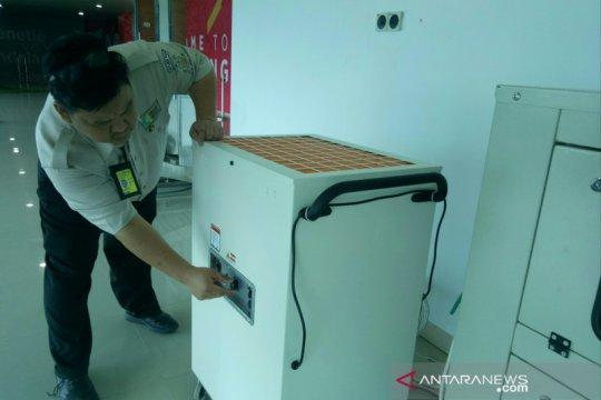 KKP Bandara SMB II aktifkan mesin filtrasi udara