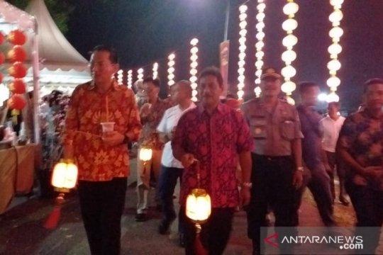 Festival Cap Goh Meh di Kabupaten Belitung berlangsung meriah