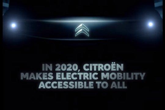 Citroen luncurkan kisi-kisi mobil listrik terbaru