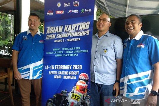 Asian Karting Open Championship diikuti sekitar 80 pegokart