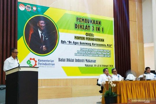 Menperin beri motivasi peserta diklat IKM di Makassar