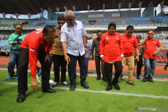 Ketua Umum PSSI tinjau Stadion Gelora Bung Tomo Surabaya