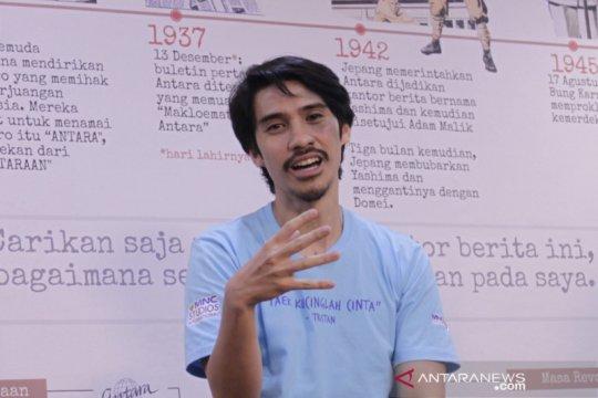 Iedil Putra makin lancar kuasai logat bahasa Indonesia