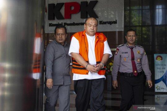 KPK perpanjang penahanan tersangka korupsi proyek Solok Selatan