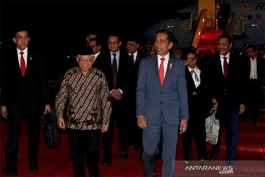 Presiden tiba di Tanah Air setelah rampungkan lawatan ke Australia