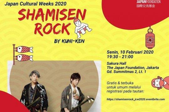 """Ada """"Shamisen rock"""" hingga pemutaran film di Japan Cultural Weeks 2020"""