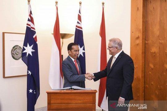 Presiden Jokowi bertemu PM Australia bahas kemitraan kedua negara
