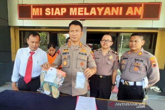 Penyelundup sabu rutan Surakarta dalam sandal ditetapkan tersangka