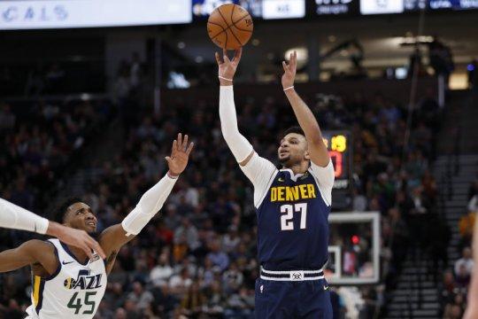 Ringkasan laga NBA, Nuggets dan Nets berbalik menang