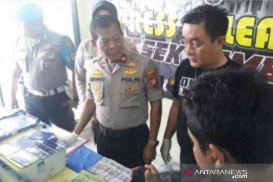 Kepolisian Bekasi bongkar sindikat pengedar upal