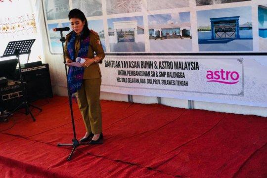 BUMN-ASTRO Malaysia bantu pemulihan pendidikan Sigi