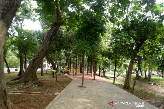 50 pohon direlokasi imbas dari revitalisasi Taman Sumenep