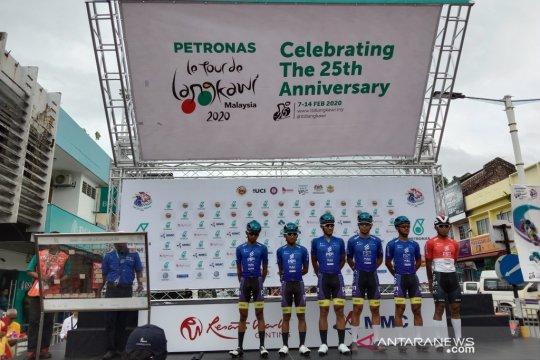 Jamalidin finis urutan 18 etape lima TdL 2020
