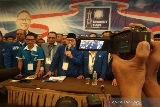 Zulkifli Hasan raih suara terbanyak pimpin PAN
