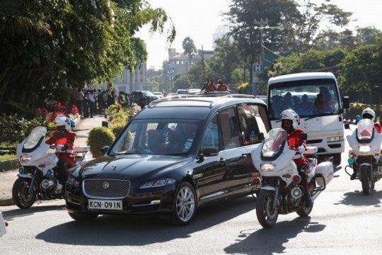 Ribuan orang ucapkan selamat tinggal pada Moi,  pemimpin terlama Kenya