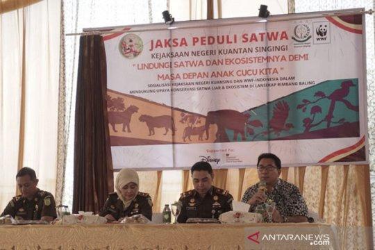 Kejaksaan Negeri Kuansing luncurkan program Jaksa Peduli Satwa