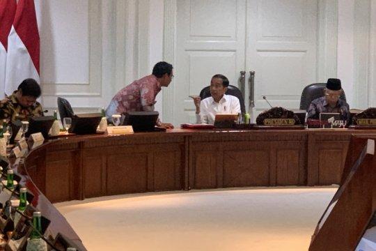 Jokowi sebut impor baja jadi sumber utama defisit neraca perdagangan
