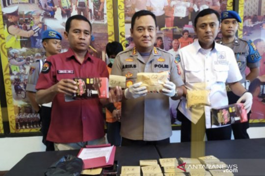 Polresta Samarinda gagalkan peredaran sabu-sabu 2 kg